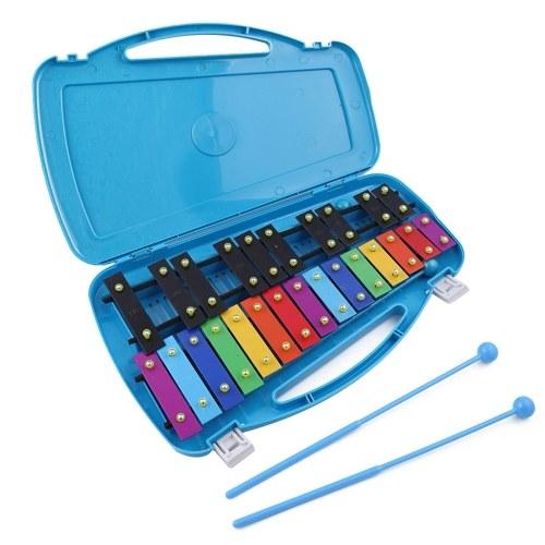 キッズパーカッション楽器ハンドノック木琴25トーンチャイルドストライクピアノ就学前教育玩具