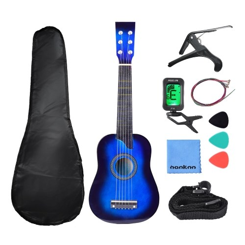 Muslady 25-дюймовая детская игрушечная гитара 6-струнная детская гитара Музыкальный игрушечный инструмент