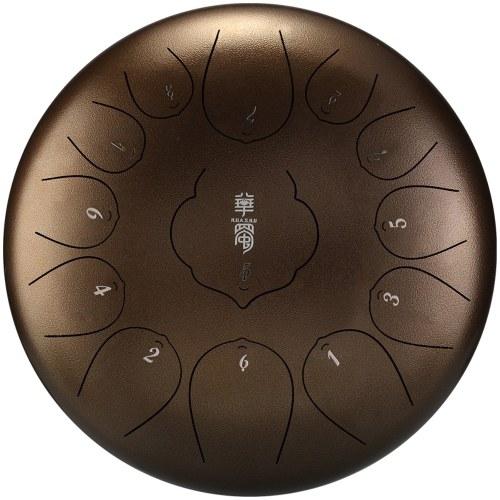 Mini tamburi a padella manuale da 12 pollici in acciaio a 13 toni