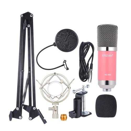 Professional Broadcasting Studio Aufnahme Kondensator Mikrofon Mic Kit
