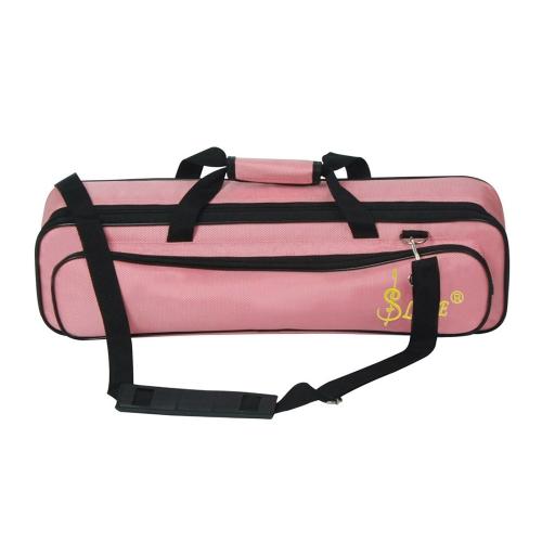 LADE Padded Flute Bag Rucksack Softcase Leicht mit Tragegriff Schultergurt