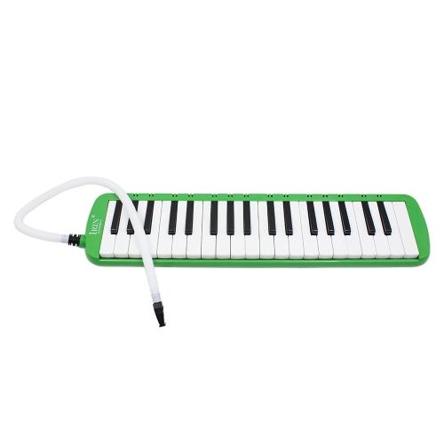 37ピアノのキー学生初心者の子供のためのキャリングバッグ付き鍵盤ハーモニカピアニカ楽器
