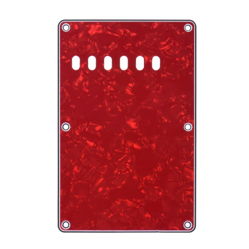 Pickguard Back Plate Tremolo Cavity Cover Vintage Style Backplate for Fender Stratocaster Strat ST Standard Modern Style Electric Guitar 4Ply