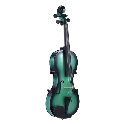 ammoon 3/4サイズBasswood Violin