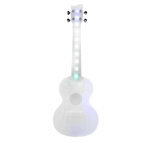 23 Zoll Kids Luminous UKulele 4 Saite tragbares Gitarreninstrument