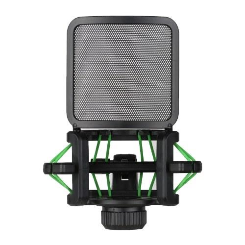 Plastic Microphone Shock Mount Anti-vibration Mic Holder Stand