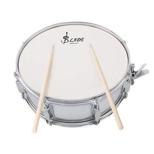 Professionelles Snare Drum Head 14 Zoll mit Drumstick Trommel Schlüsselband für Schüler-Band