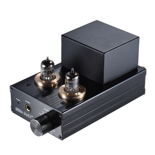 Little Dot I+ Vacuum Transistor Hybrid Tube Headphone Amplifier HiFi Stereo Amp Preamplifier with RCA Cable 3.5mm to 6.35mm Adapter