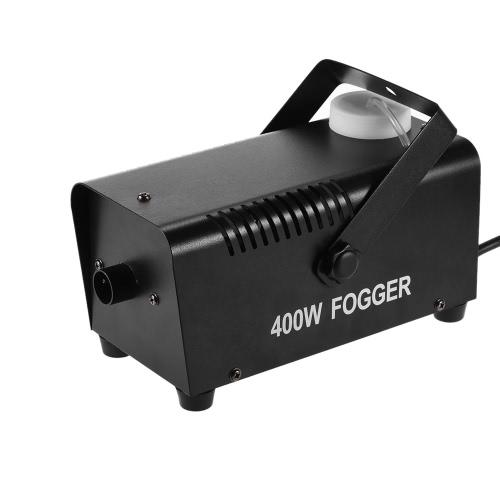 Wireless 400 Watt Fogger Fog Smoke Machine with Remote Control for Party Live Concert DJ Bar KTV Stage Effect