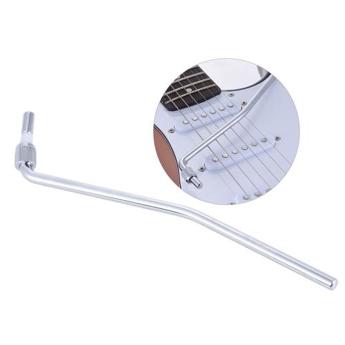 フロイドローズブリッジシステムシルバーのためのエレキギターのトレモロトレモロビブラートアームワーミーバークランクレバー