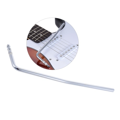 Direkte Insertion Style Tremolo Trem Vibrato Arm Whammy Bar Kurbelhebel für E-Gitarren-Tremolo-Brücke Teil einfügen Durchmesser 6mm Silber