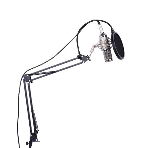 プロフェッショナルスタジオ放送録音コンデンサーマイクマイクキットセット