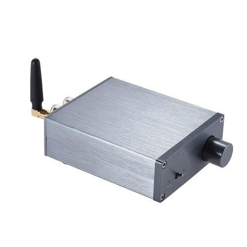 Bluetooth 4.0 Mini HiFi 2.0 Stereo Cyfrowy Wzmacniacz Wzmacniacza Wzmacniacza Wzmacniacz Podwójny Wyjście 50 W * 2 aluminium Stop 10m pasmo przenoszenia z zasilaczem