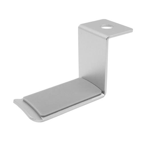 Support de crochet universel pour casque cintre rotatif à 360 ° sous le support de montage de bureau en alliage d'aluminium pour Home Studio Office