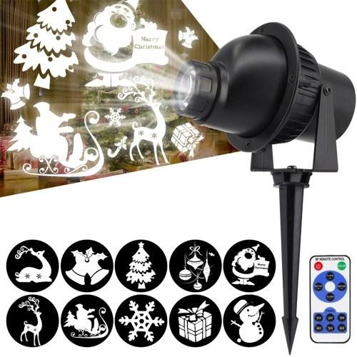 Luz LED giratoria para proyector 3D