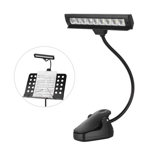 Lámpara LED de orquesta con clip de dos niveles
