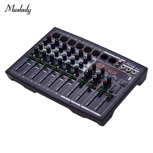 Muslady BX6 Compact 6 Kanal Mixer