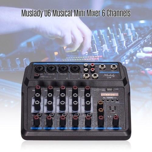 Muslady U6 Musical Mini Mixer
