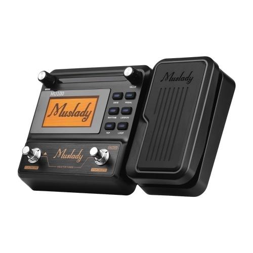 Muslady MU100 Гитарный мультиэффект-процессор Электрогитара Педаль эффектов