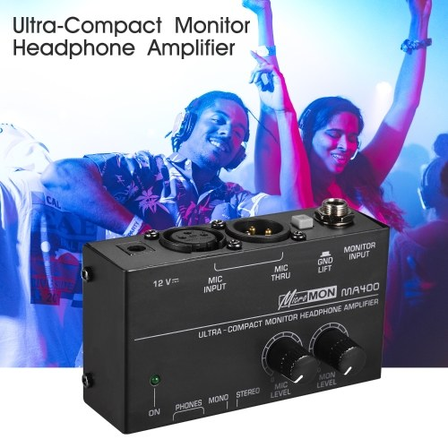 Ultra-Compact Monitor Headphone Amplifier Amp