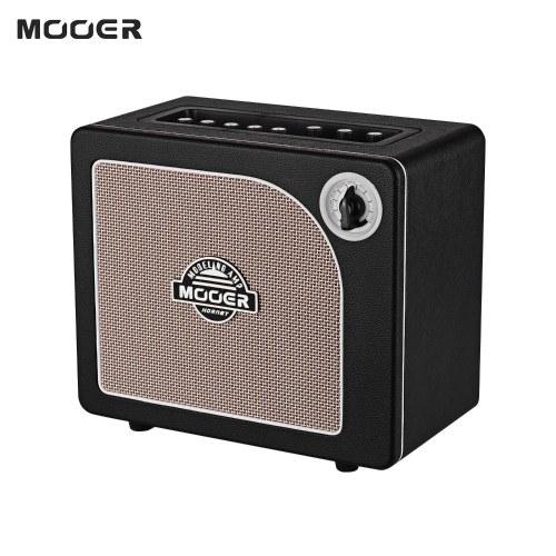 MOOER HORNET BLACK 15 Watt Digital Modeling Combo Guitar Amplifier Speaker 9 Amp Models Built-in Modulation Delay Reverb Effects Guitar Tuner Live/Preset Modes BT Connection AUX IN