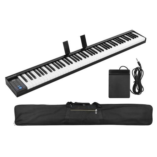 88 teclas Teclado de piano electrónico digital Salida MIDI