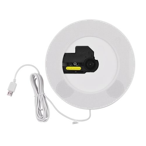 Portable CD Player Wall Mountable with BT FM Radio Timer