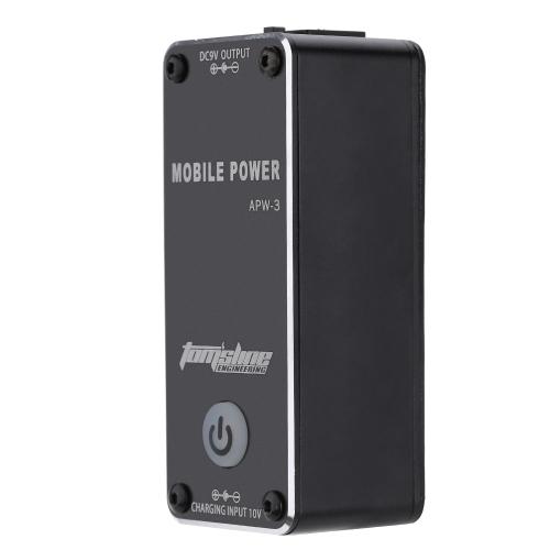 香り APW 3 ポータブル充電式 9 v 0.5 a 主導のギターエフェクターのモバイル電源
