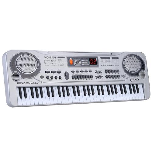 """Image de 21 """"61 touches LED clavier électronique jouet de musique"""
