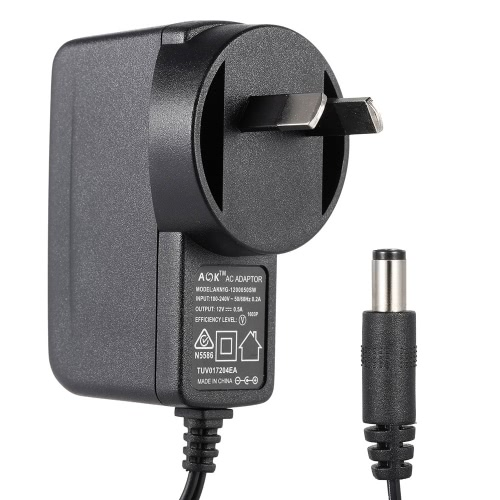 AU Plug AC 100-240V to DC 12V 0.5A Power Supply Converter Charger Adapter for   Electronic Keyboard Electric Piano