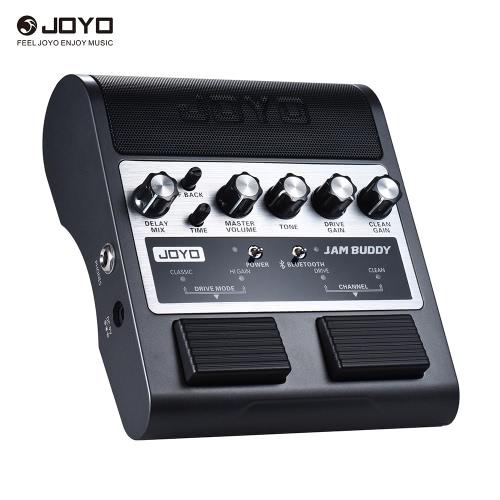 JOYO JAM AMIGO portátil Bluetooth recarregável 4.0 Dual Channel 2 * 4W Pedal Estilo amplificador de guitarra Amp Speaker com um atraso Overdrive Limpo Efeitos Built-in bateria de lítio