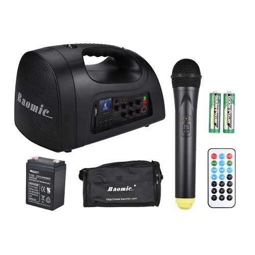 Baomic PA-101 Amplifier Voice Speaker