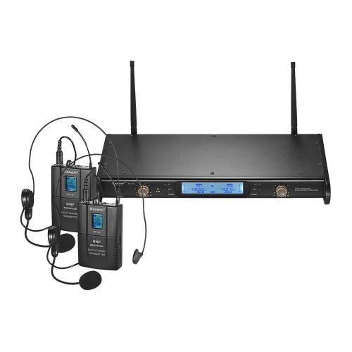 Bezprzewodowy system mikrofonowy Baomic BM-7200 UHF do spotkań biznesowych
