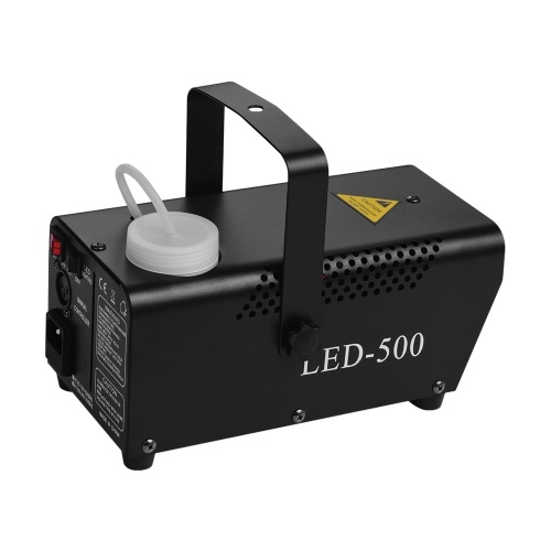 Portable 500W Fogger Wired and Wireless Remote Control