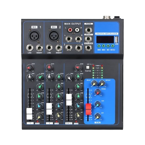 High Tone Quality Multi-Function Recording Mixing Console
