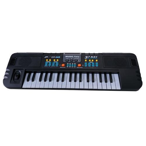 Jouet d'instrument de musique d'orgue électronique multifonctionnel de Piano électronique à 37 touches avec Microphone pour enfants garçons filles débutants
