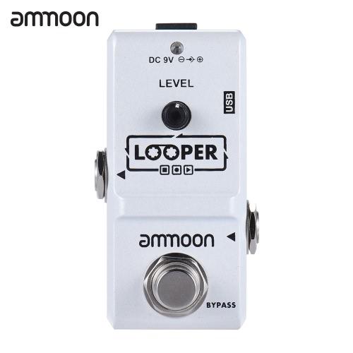 ammoon AP-09 Nano Serie Loop E-Gitarre Effektpedal Looper True Bypass