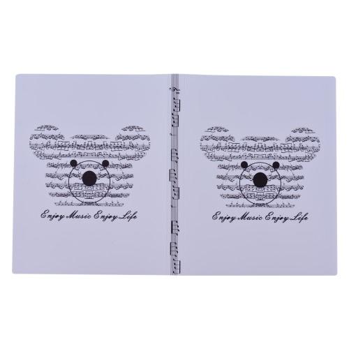 音楽シートスコアファイル用紙文書保管フォルダホルダープラスチックA4サイズ40パッケージポケット