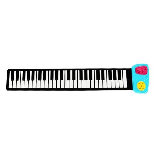Mano de altavoz de 49 teclas enrollable piano