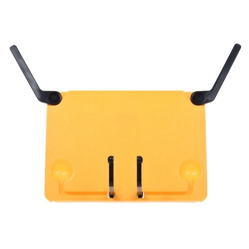 ポータブル折り畳み式音楽スコアシートスタンドホルダーサポートブックブックブックスタンドiPad用リーディングフレームラップトップタブラッカークックブックローズレッド