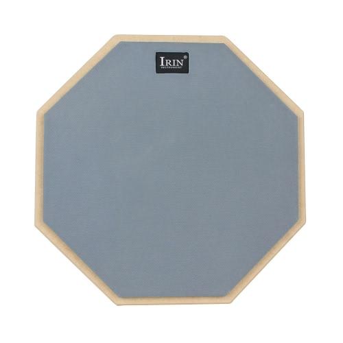 12インチのサイレントドラムプラクティスパッドトレーニング用の表面を再生する高弾性ゴム