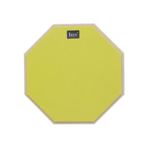 12-Zoll-Silent-Drum-Übungs-Pad Hochelastische Gummi-Spielfläche für Training