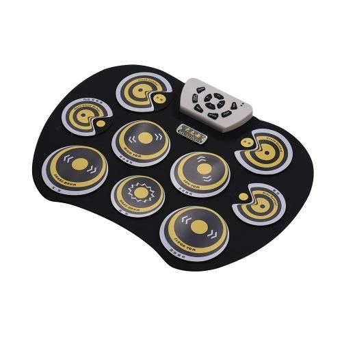 Bild von G800 E-Drum Pad USB-Kabel faltbar Digitaler Drum-Set