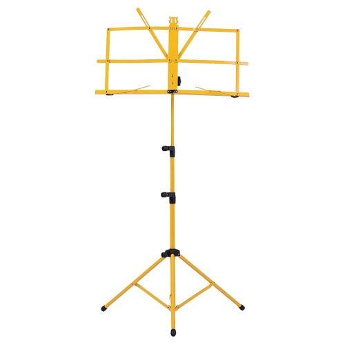 折り畳み可能なシート音楽三脚スタンドホルダー軽量で耐水性のあるキャリングバッグ付き、バイオリン用ピアノギター楽器のパフォーマンス