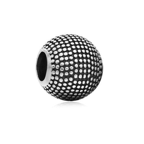 Romacci S925 plata redondo punto grano encanto DIY accesorios para joyería de la mujer 3mm cadena pulsera brazalete collar moda Europea