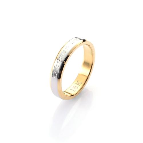 Anéis de noivado de casamento de jóias feminino