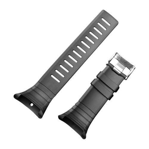 Boucle en acier de montre-bracelet extérieure imperméable en caoutchouc de bande de montre des hommes avec le tournevis pour le noyau de Suunto