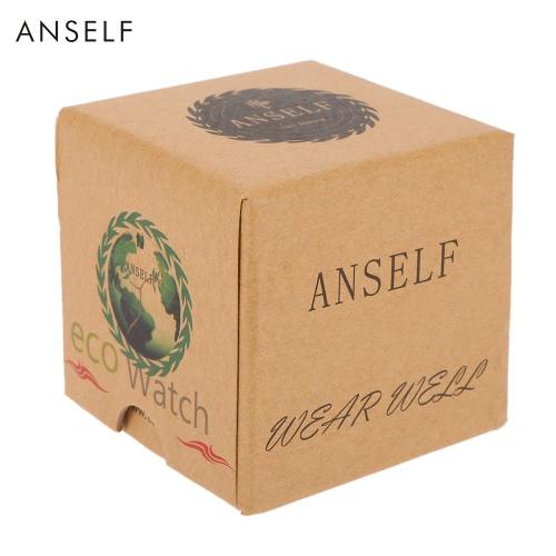Anself Mini-Platz Karton-Uhr-Kasten-Armbanduhr Fall Netter Schmuck-Box Geschenk-Box Multifunktionsaufbewahrungsbehälter