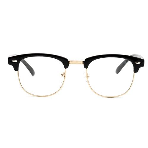 Novo Designer Retro Clear Lens Nerd Frames Óculos Moda para Homem Moda para Mulher