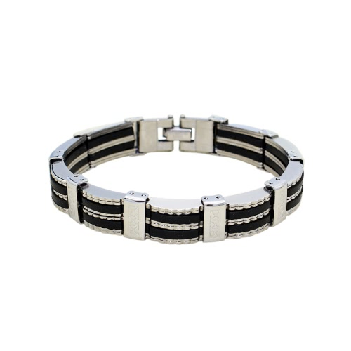 Männer und Frauen-Armband-Qualitäts-Edelstahl-Leder-Armband-Art- und Weiseschmucksache-Geschenk